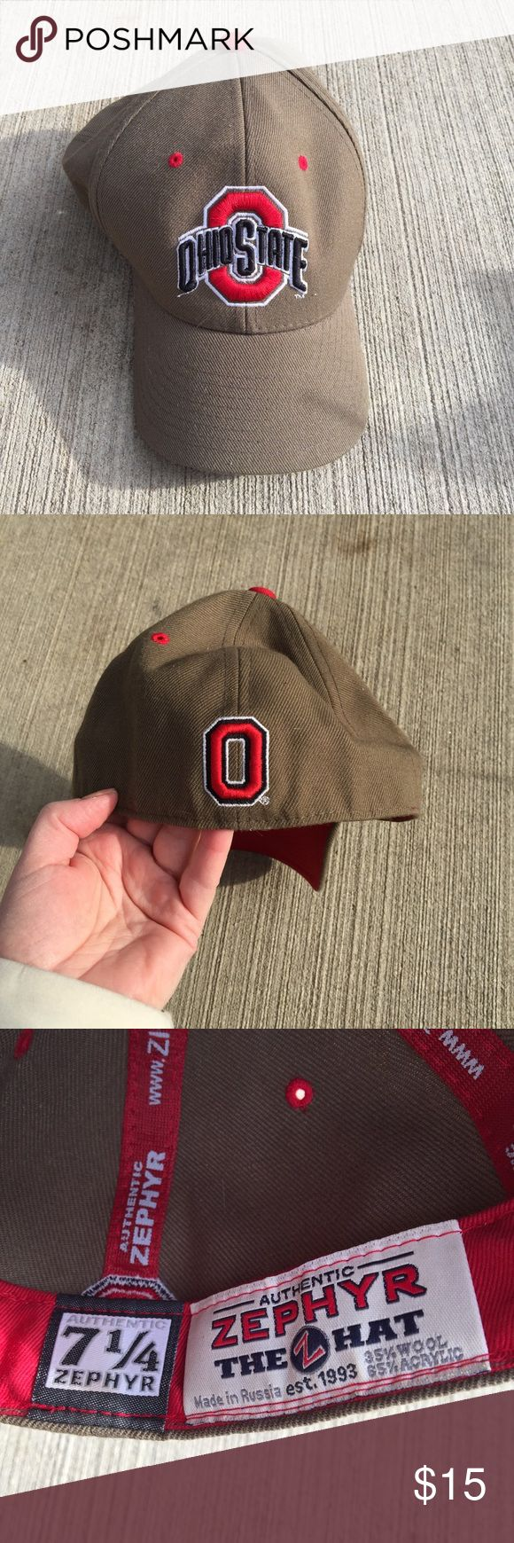 Ohio State Hat Authentic Zephyr hat size 7 1/2 Accessories Hats