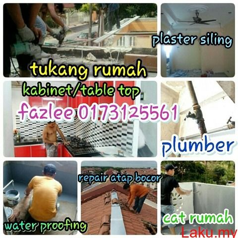 0173125561 fazlee tukang paip tukang rumah bandar sungai long