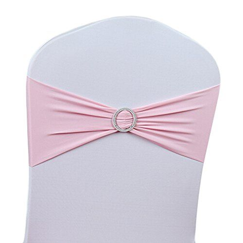 6,85+1,99 50AIHOMETM Stretch Wedding Chair COVER Sashes Fiocchi Per R