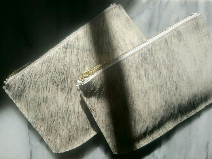 SILJE OPAAS | Handmade cowhide pouch