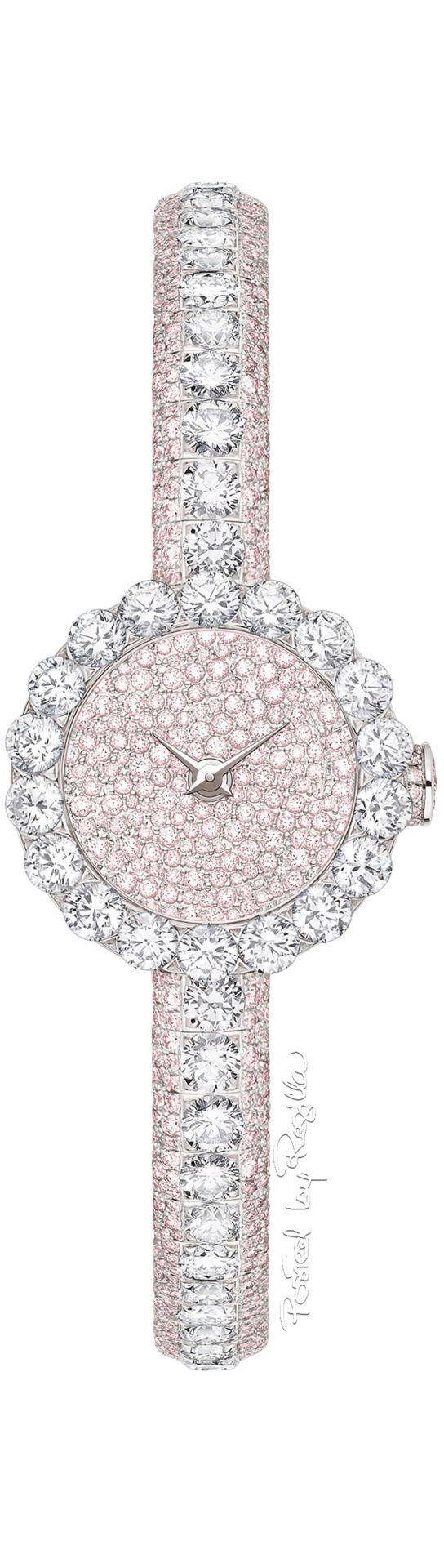 "Dior ""Haute Joaillerie"" Mini D diamond watch"