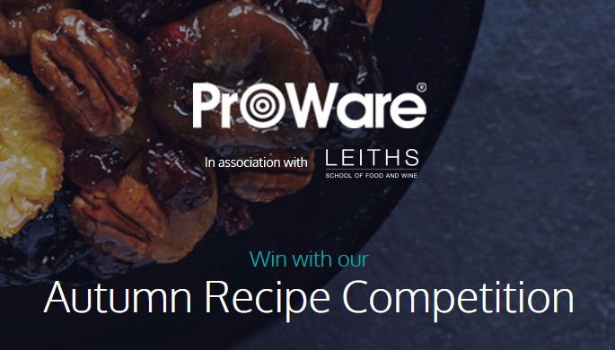 ProWare's #Autumn #Recipe #Competition -  #Win a prize bundle worth over £570 containing:  A set of 3 ProWare #Copper Tri-ply pans Two tickets to the BBC Good Food Show One day cooking course at Leiths School of Food and Wine. Competition closes 30th of October 2016.