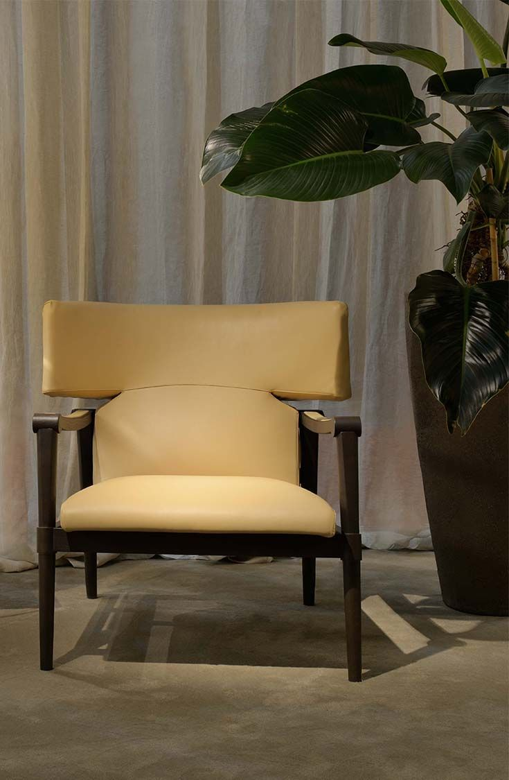 Furniture swivel and tub chairs dori fabric swivel cuddle chair - Swed Armchair From Trussardi Casa S First Home Collection Launched In 2014 During Milan Design Week Eclectic Furniturefurniture Chairsmodern