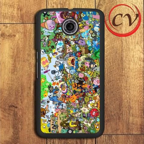 Adventure Time All Characters Nexus 5,Nexus 6,Nexus 7 Case