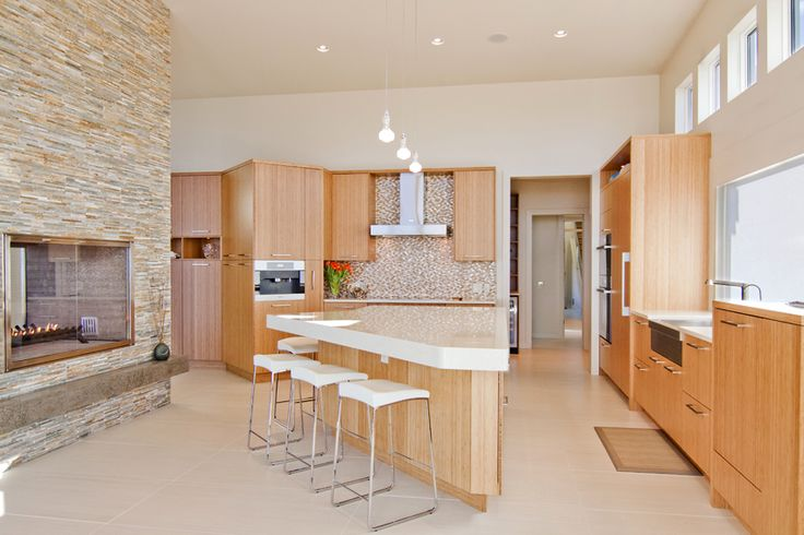 #Kitchen of the day - West Coast Beach front contemporary