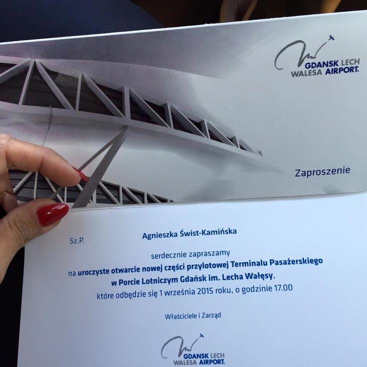 Szkoła Męskiego Stylu w drodze na otwarcie nowego terminala pasażerskiego na Lotnisku Gdańsk. Dziękujemy za zaproszenie!