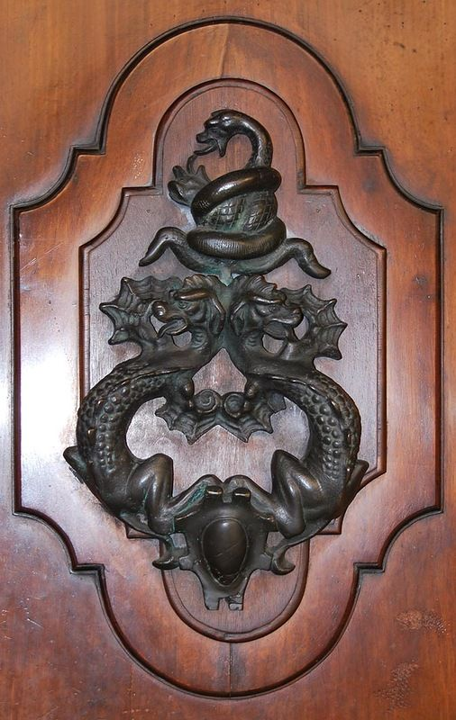 Бронзовые украшения дверей из Болоньи: ornament_i_stil