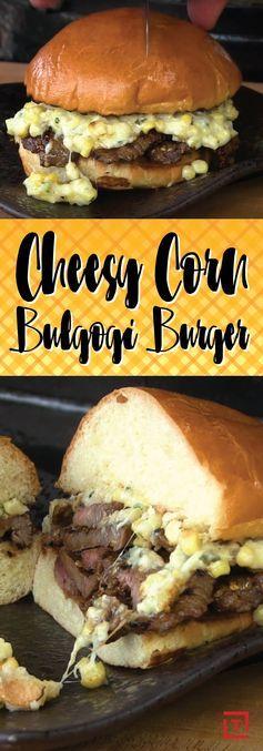 How to Make a Cheesy Corn Bulgogi Burger Recipe - Thrillist