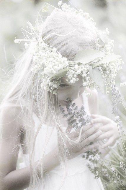 white. fantasy photography