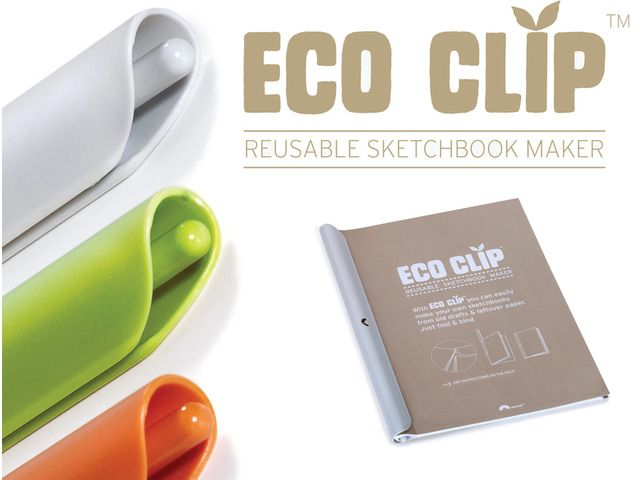 Eco Clip - REUSABLE NOTEBOOK MAKER by ARIK YUVAL — Kickstarter