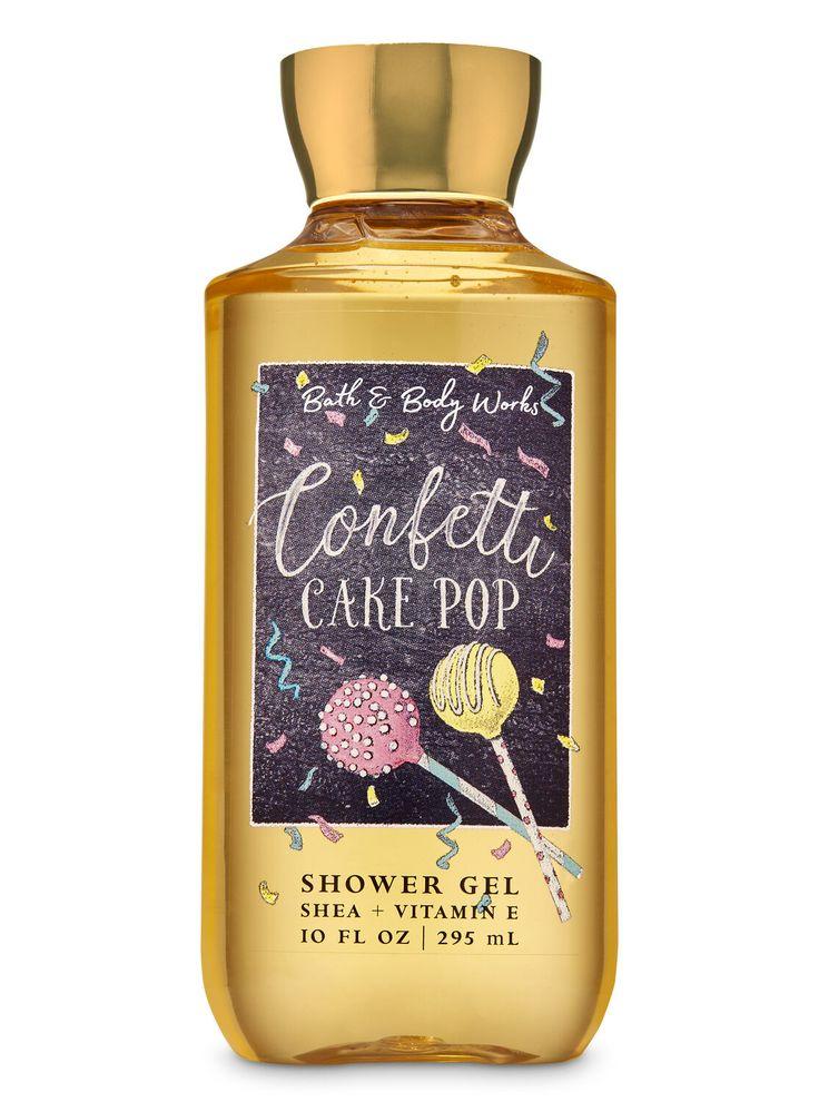 Bath body works confetti cake pop shower gel in 2020