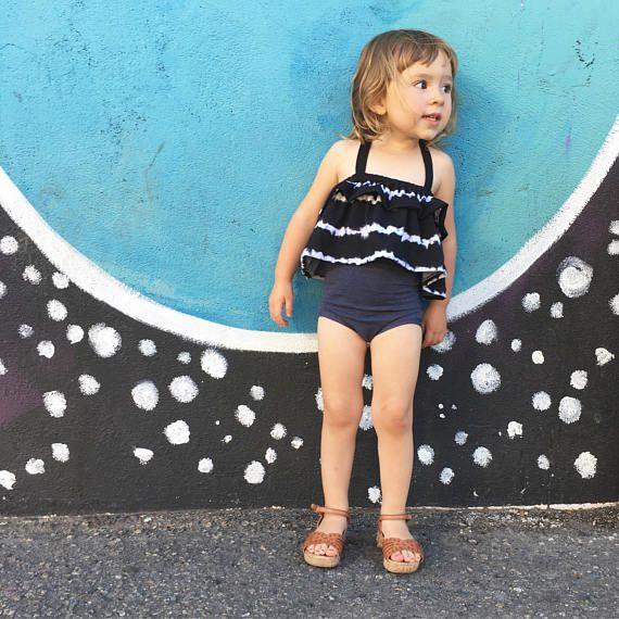 Girl's Playsuit // Sunsuit // Girl's Set // Baby
