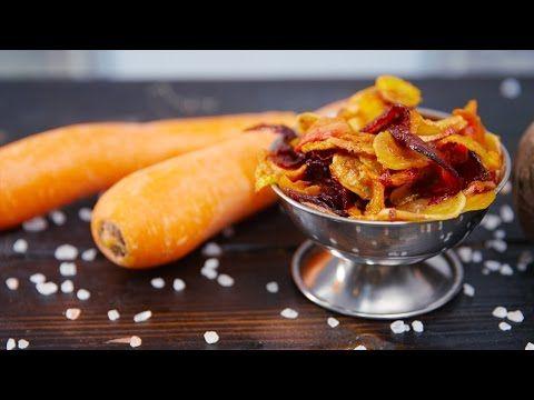 Knusprige Gemüse-Chips zum Knabbern - Klein aber Lecker