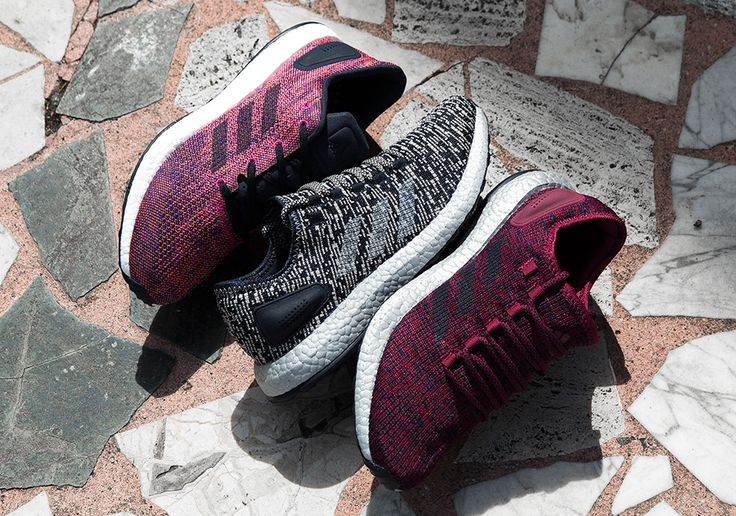 #sneakers #news  adidas To Release Three Pure BOOST Colorways Tomorrow
