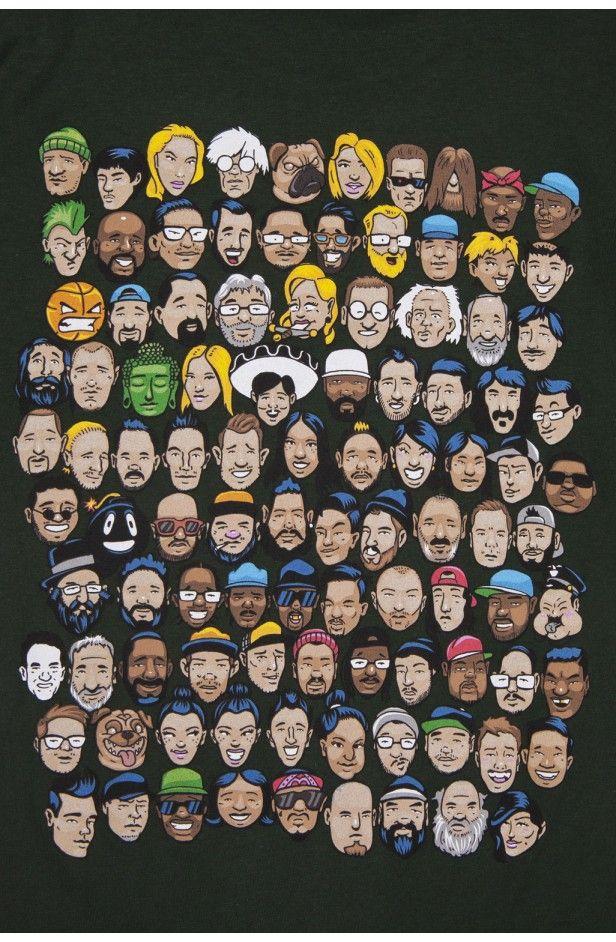 SHOP THE HUNDREDS | The Hundreds Who's Who T-Shirt
