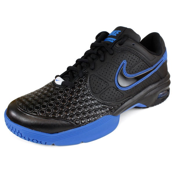Great shoe for a holiday gift in cool blue and black!