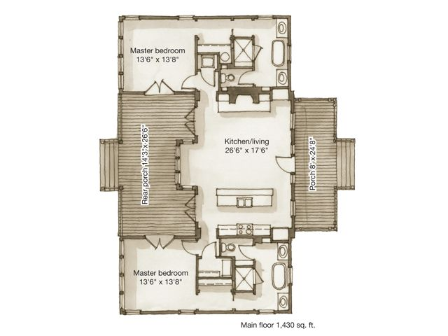 122 Best Images About Small House Plans On Pinterest
