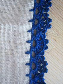 Filomena Crochet e Outros Lavores: - Bicos de Crochet - novamente...