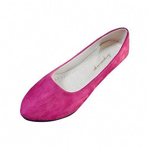Damen Slip On Sneakers Ballerina Flats Mokassin Slippers Schuhe Freizeit Sommer