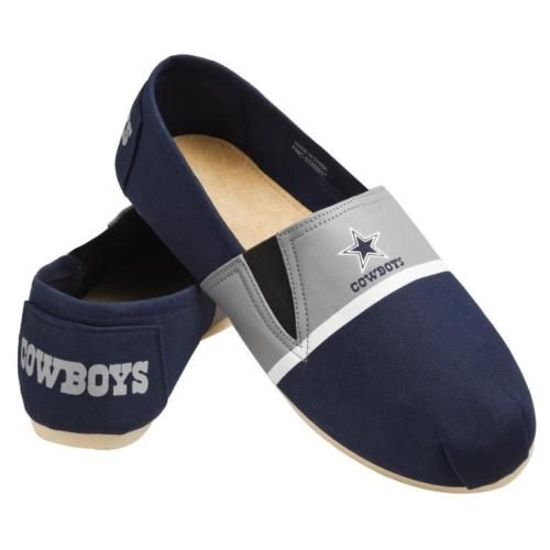 $19.99--XL--NFL-Football-Team-Logo-Men-039-s-Slip-On-Canvas-Shoes-Pick-your-Team