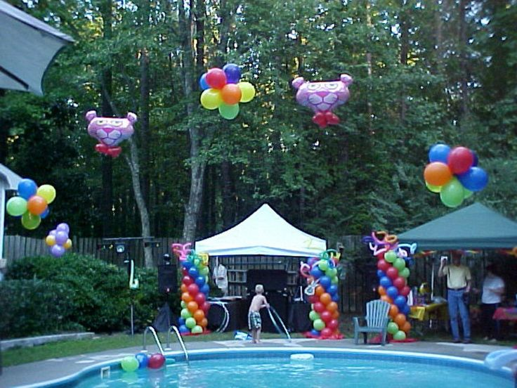 Swimming Pool Party Theme Ideas stunning pool party decorations youtube Teen Pool Party Ideas More