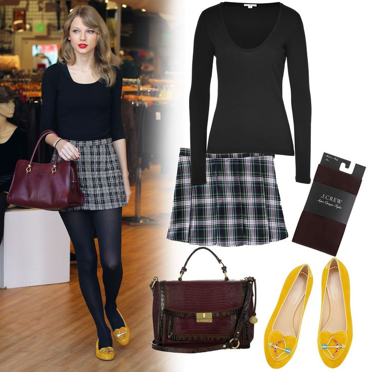 8 best Plaid Skirt Outfits images on Pinterest   Plaid skirts Business outfits and My style