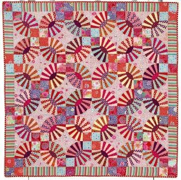 Cool  Pickle Dish Quilt Kaffe Fassett us Quilt Romance The design is inspired by Wedding Ring