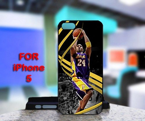 Kobe Bryant Lakers LA 24 For IPhone 5 Black Case Cover