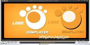 Logo GOM PLayer Video - Hasil Belajar Photoshop