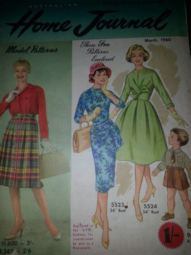 Australian home journal March 1960 cover