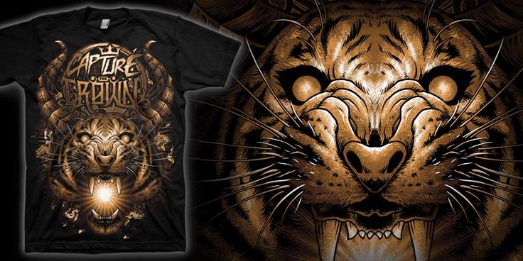 """Scream of Life"" t-shirt design by markusmanson"