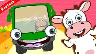 Wheels Of The Bus | Five Little Monkeys & Lots More Popular Nursery Rhymes Collection with Lyrics - YouTube