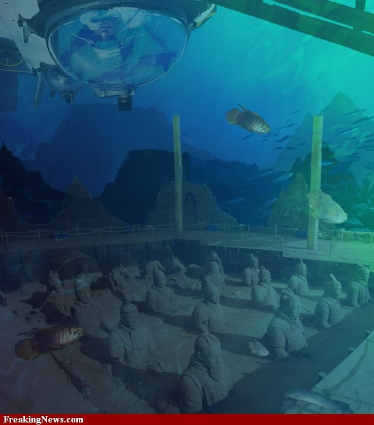 Sunken Cities Of The World | Underwater World Pictures - Strange Pics - Freaking News