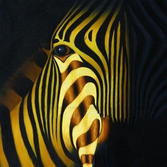 8 best Zibras images on Pinterest | Zebra painting, Painting art and ...