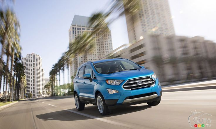 All-new #Ford #EcoSport set to capitalize on small SUV craze | Car News | Auto123