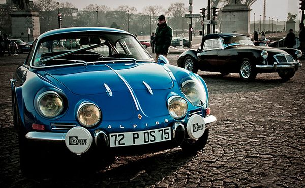 Blue by you. Alpine Automobile.