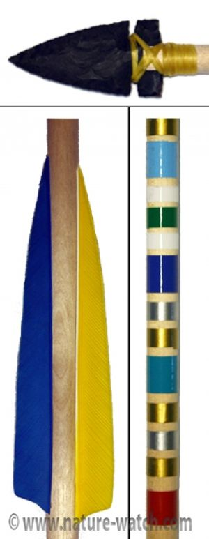 Everything You Need to Make Your Award Arrows! It is customary for Cub Scout leaders to present each of their   graduating Webelos with an Arrow of Honor (also called a Career Arrow or   an Arrow of Light Award).  After many years of providing just the   replica arrowheads that scout leaders would use for the purpose of   making these arrows, Nature-Watch is excited to provide a complete kit with everything you need to assemble your Arrow of Light Awards! Materials Included:      Leader's G…