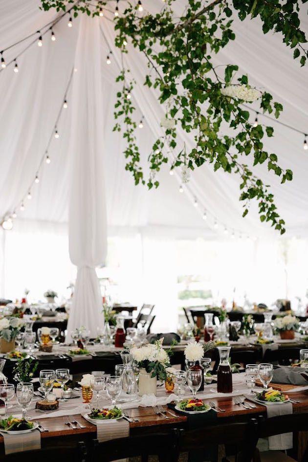 Marquee Wedding | Beautiful Rustic Wedding at Cedarwood | Q Avenue Photo | Bridal Musings Wedding Blog