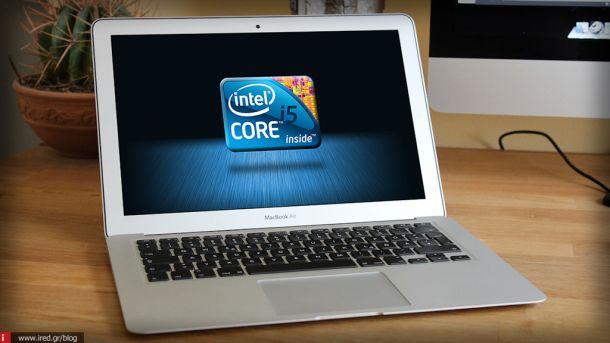Νέοι επεξεργαστές στα καινούργια MacBook