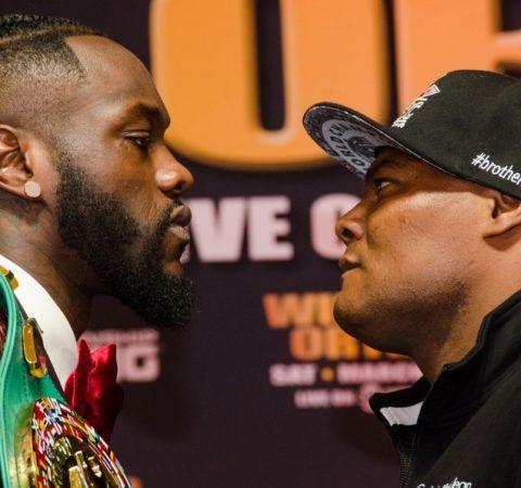 Deontay Wilder vs. Luis Ortiz Final Press Conference Quotes & Photos #DeontayWilder #DeontayWildervsLuizOrtiz #allthebelts #boxing
