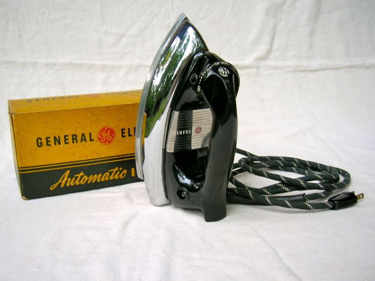 Steam Irons Made In Usa ~ General electric automatic iron vintage s cat no