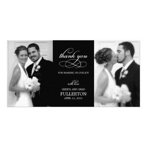 Elengant Wedding Thank You Cards Simply Pretty Photo