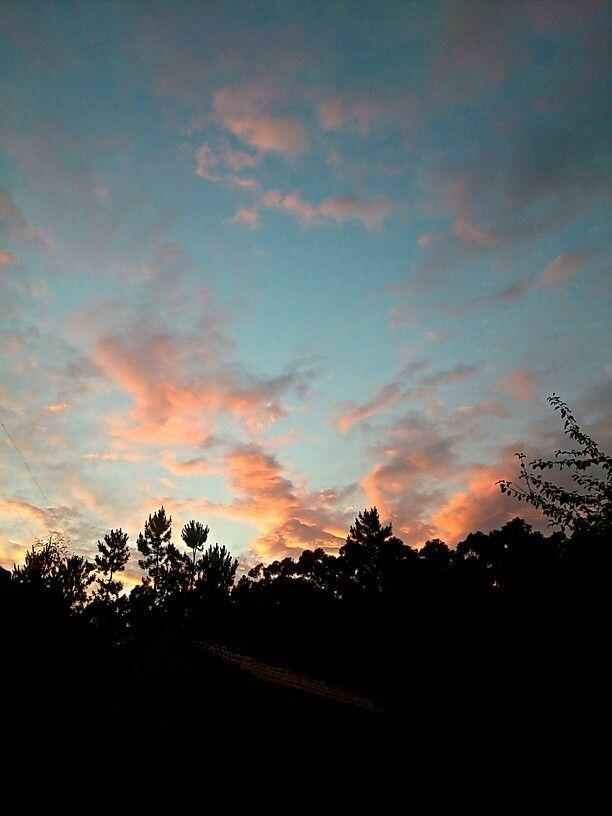 Cielo del #camping #riadearosa... Primera noche de verano