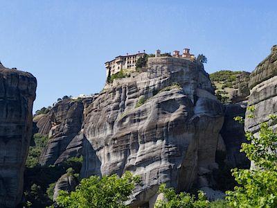 Meteora se nachází na severu Řecka a jedná se o jedno z nejpohádkovějších míst v Evropě.