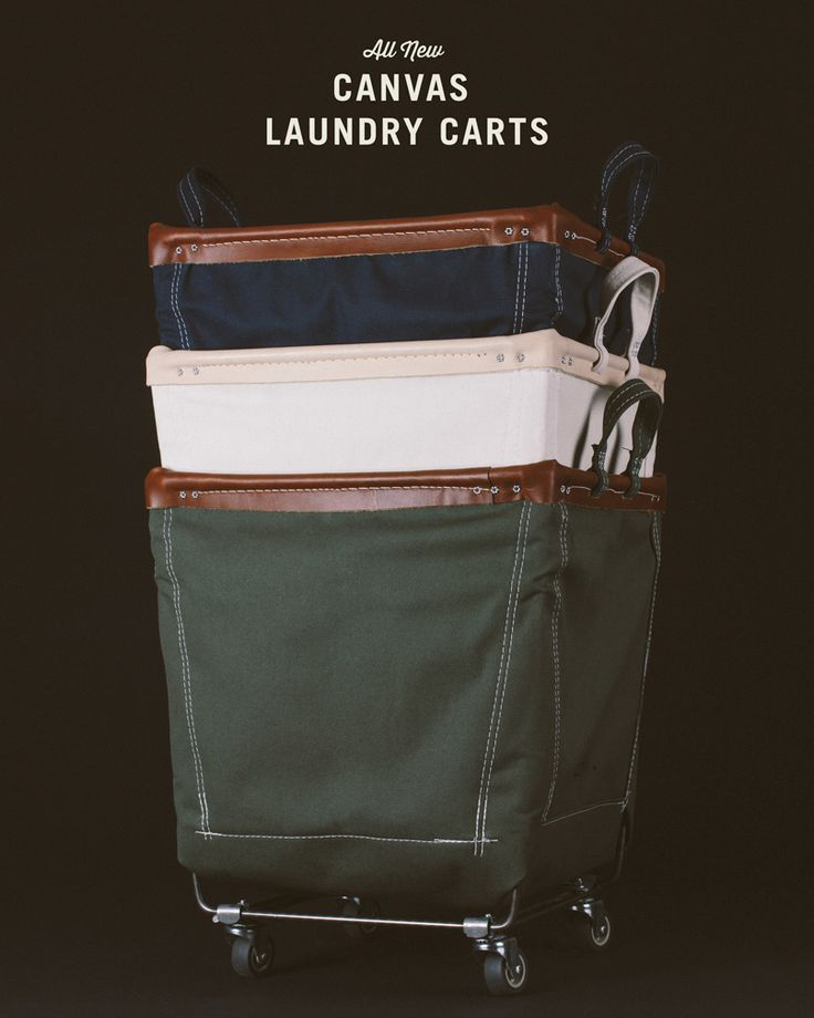 We've expanded our line of best-selling Canvas Laundry Carts to include two new colours: Olive & Indigo.