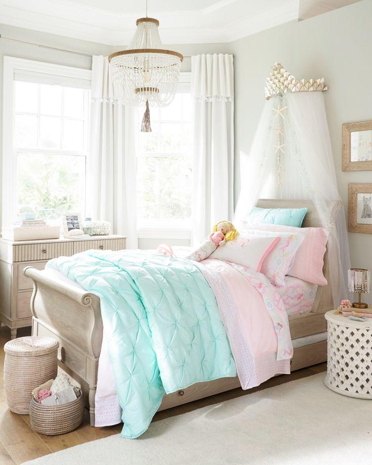 Audrey Quilt Girls Bedroom Mermaid Themed Bedroom
