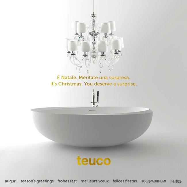 Season's Greetings from Teuco #design  #bathroom #Christmas