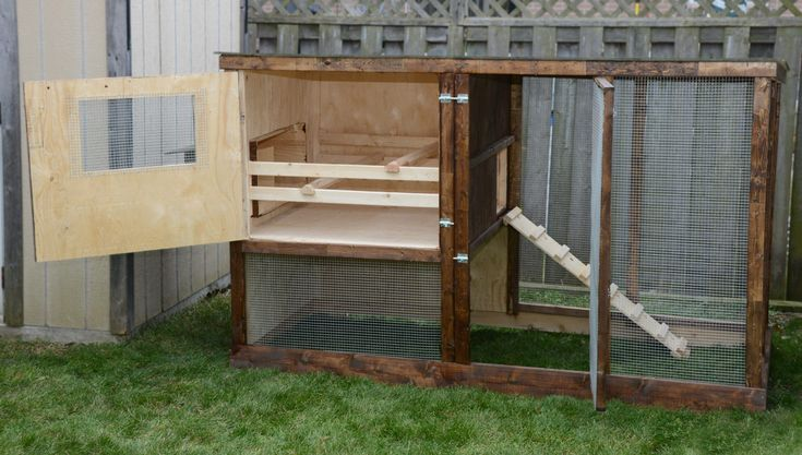 Family Chicken Coop Plans (up to 6 chickens) from My Pet Chicken