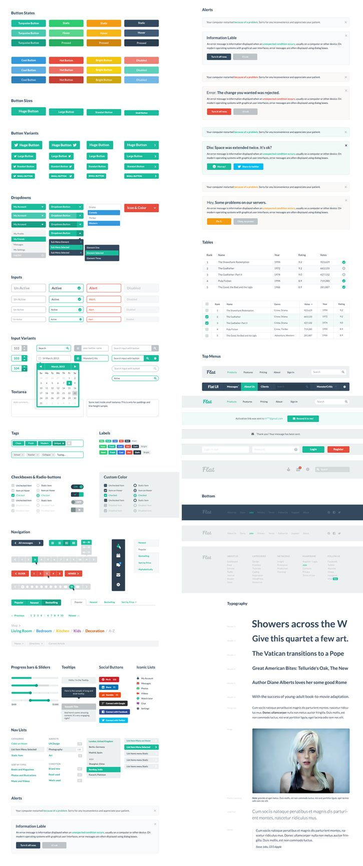 Giveaway: The Ultimate Flat UI Pro from Designmodo