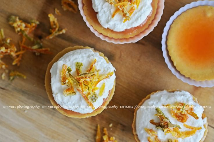 Mini cheese cakes agrumi e spezie